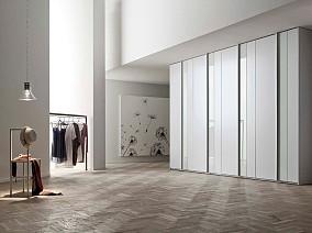 北欧别墅衣柜设计图片欣赏