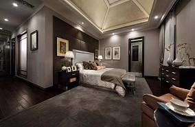 古典二居卧室效果图