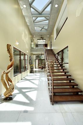 格调楼梯背景墙