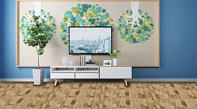 北欧风格的客厅电视背景墙