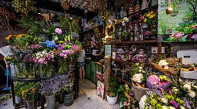 小型花店装修图