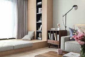 120平现代简约三居空间设计10330086