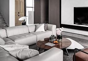 二层私人住宅 现代装修风格渲染生活10386615