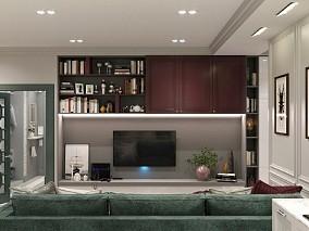玻璃金属现代轻奢风,高端品质生活10431233