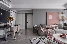 高级灰+烟粉色,家的颜色一定能温暖你10823092