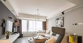 灰色的基調100平米三居室11125493