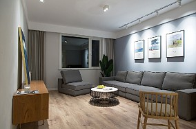 简约风格二居室,品质的家11186367