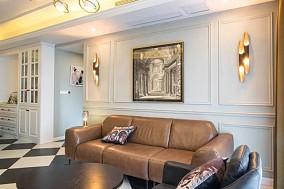 书香华苑88平两居室美式风格11405462