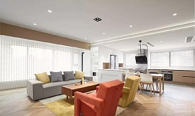 105平木色简约两室,开放公共区11764967