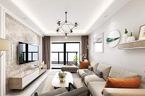 89㎡现代简约三房,适合一家人住的空间11810358