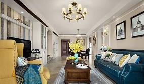140㎡ 美式风格三室两厅的户型11854109