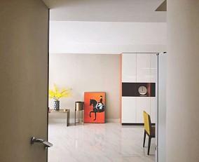 碧水云天四居室现代都市风格的色彩美学11900978