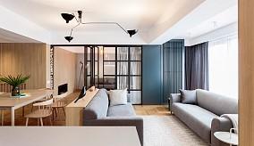 快看这套80㎡现代风,原来客厅可以这样装11926072