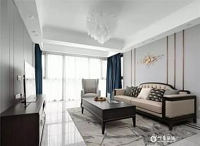 120平轻奢美式,宁静而精致的品质之家12035073