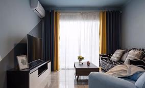 现代混搭风格,18万打造的两居室12122636