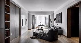 简约风格三居室,?#25913;?#26580;和的空间质感12316963