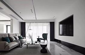 258㎡现代风格大户型,舒适优雅设计13388295