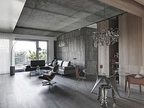 108㎡二居,一种纯粹的空间表现设计14350128