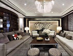 300m²新中式风格别墅,包含书香气息15027062