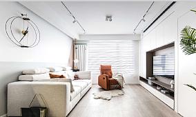 90平米的现代风格,家是春日圆舞曲。15223775