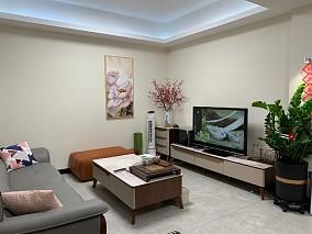 現代簡約三居室,生活中的小美滿16365375