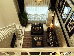 现代挑高客厅