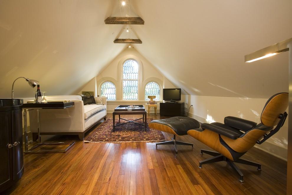 现代风格小复式阁楼装修效果图