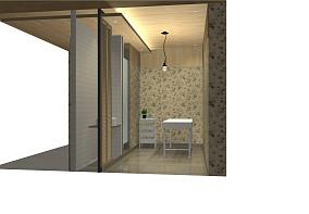 110平米装修简约厨房图片