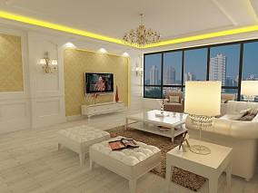 现代时尚地中海风格别墅设计案例