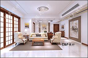 豪华家装客厅效果图