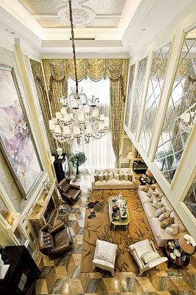 别墅复式客厅