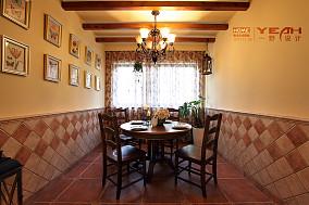 2018大小100平混搭三居餐厅装饰图片