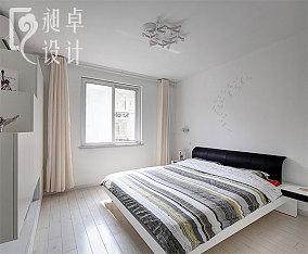 现代简约风格卧室窗户贴图