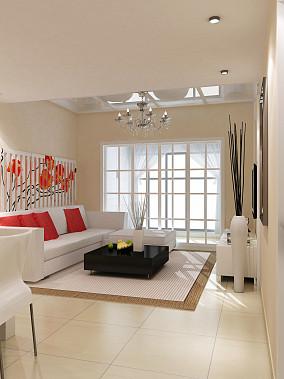 2018面积135平复式客厅混搭装修实景图