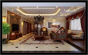 复式楼欧式客厅