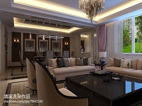 现代清新风格日式客厅设计