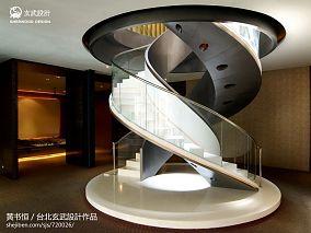 售楼处楼梯装修效果图