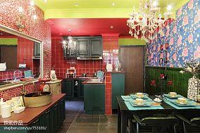 质朴59平混搭二居餐厅装饰美图
