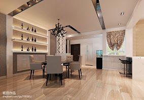 地中海风格120平米三室两厅装修图片