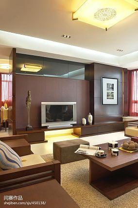 2018精选126平米日式复式客厅装修效果图片欣赏