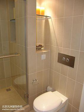 混搭小户型卫生间装修设计效果图片