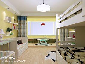 美式风格卧室实木衣柜移门效果图