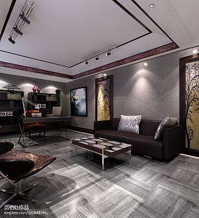 后现代主义风格简约客厅装饰图片
