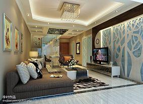 现代风格大厅装修设计图片