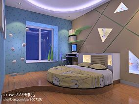 热门126平米混搭别墅儿童房装修欣赏图
