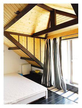 热门面积82平小户型客厅混搭设计效果图
