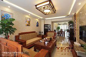面积105平混搭三居客厅装修欣赏图