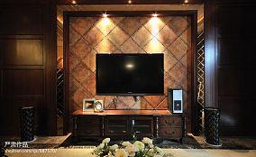 软包电视背景墙装修效果图大全2013图片