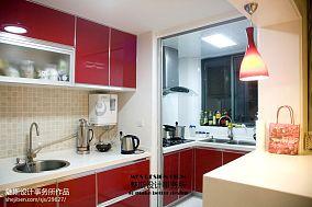精美现代三居厨房装修图