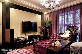 热门面积76平小户型客厅欧式装修实景图片欣赏